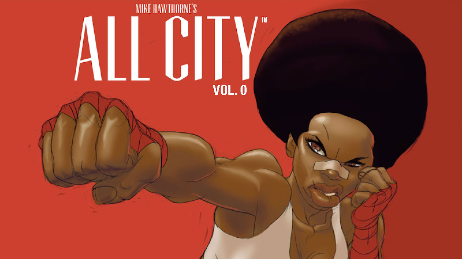 All City Volume Zero will be the first in a series of art books straight from the mind and hand of comic artist Mike Hawthorne.
