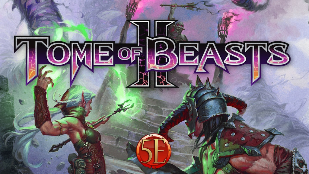 Tome of Beasts 2 for 5th Edition: 400 New Monsters project video thumbnail