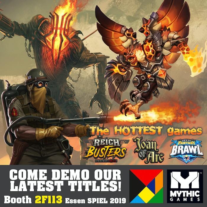 Super Fantasy Brawl By Mythic Games Inc Kickstarter