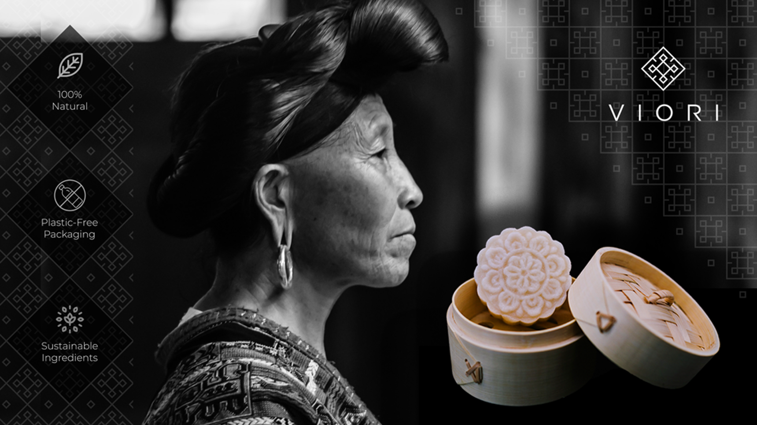 Inspired by Ancient Haircare Rituals Practiced in a Rice-Terraced Village of the Longsheng Mountains