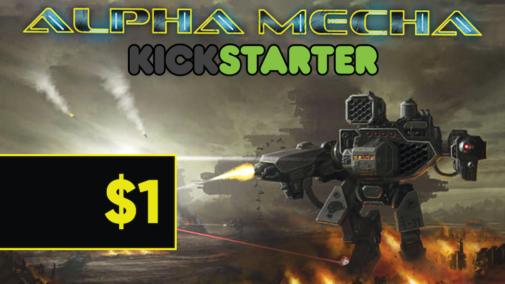 Alpha Mecha: PDF Edition project video thumbnail