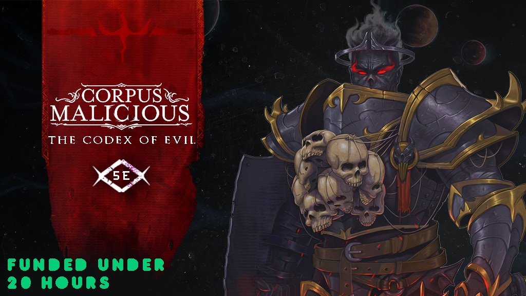 Corpus Malicious - The Codex of Evil for 5E project video thumbnail