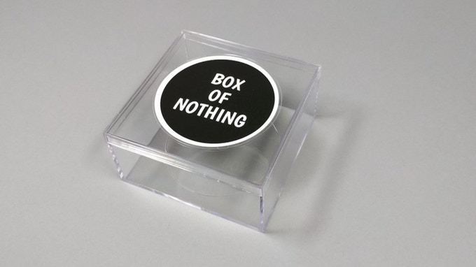Boxes of Nothing
