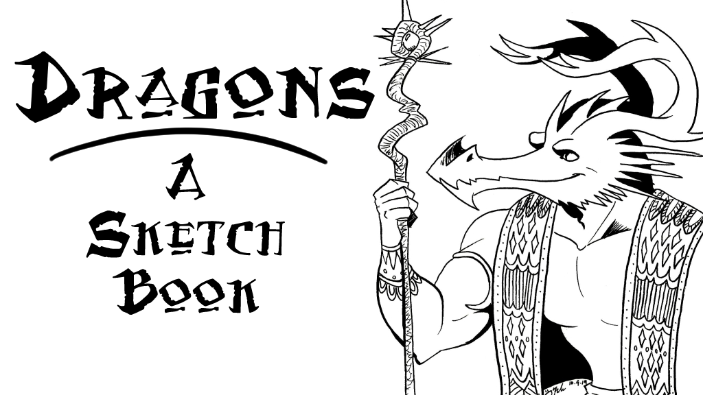 Project image for Dragons: A Sketchbook