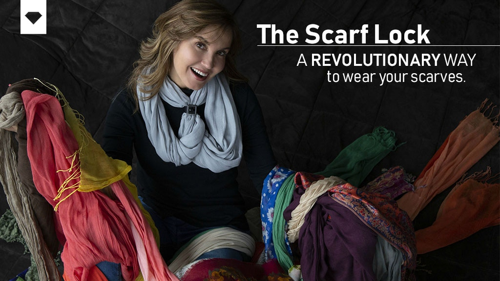 THE SCARF LOCK: A Revolutionary Way to Wear Your Scarves project video thumbnail