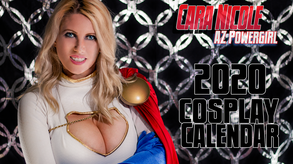 Cara Nicole AzPowergirl Cosplay 13 Month 2020 Calendar! project video thumbnail