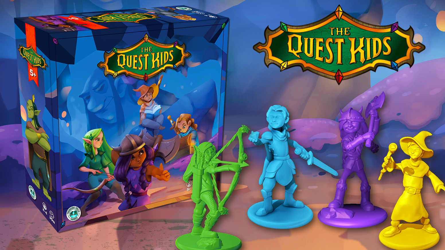 A tabletop game of fantasy adventure for heroes 5 years old and up.