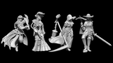The Order of the Indigo Cross: 32mm miniatures thumbnail