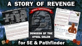 Dungeon of the Steel Golem - A 5E DND and Pathfinder Module thumbnail