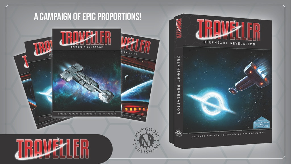 Project image for Traveller RPG: The Deepnight Revelation Campaign Box Set