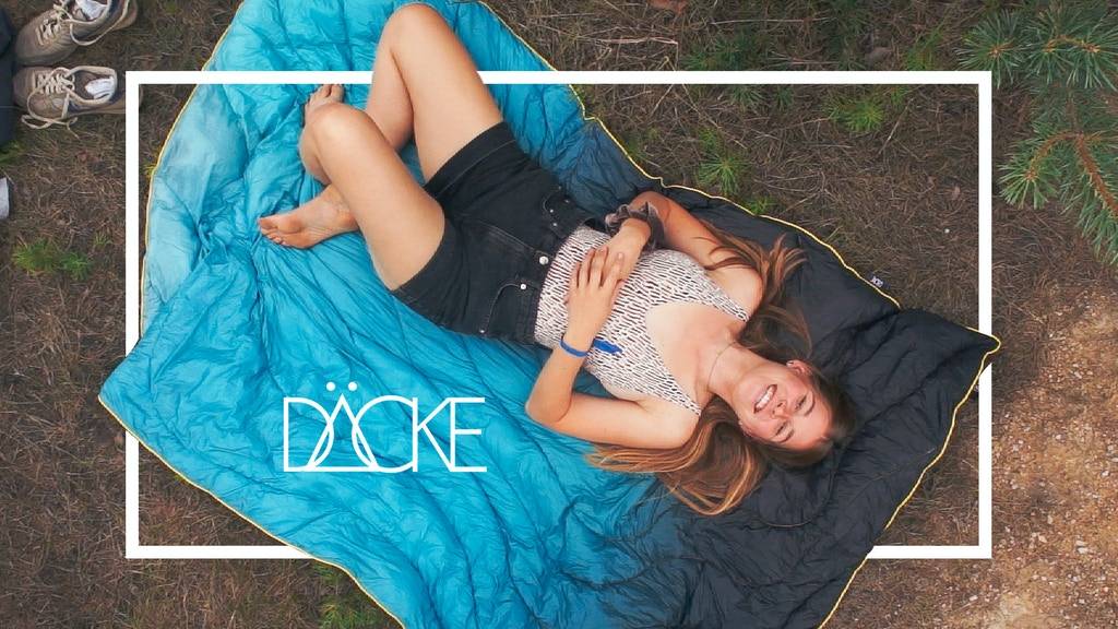 DÄCKE | The Outdoor Blanket you can bring everywhere project video thumbnail