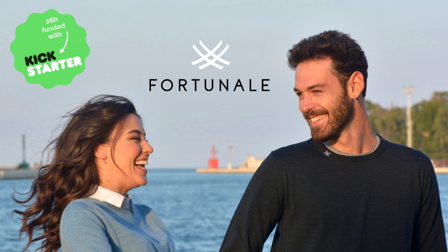 The recyclable sweater in 100% pure organic wool, natural dyes and made in Italy, that plants a tree for you.