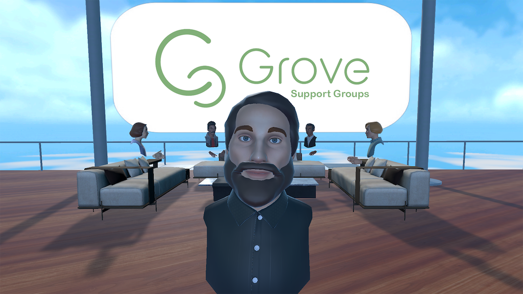 Grove: Virtual Reality Support Groups project video thumbnail