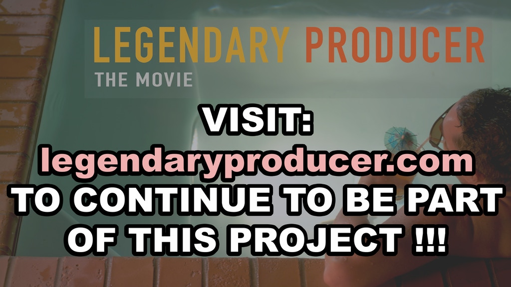 LEGENDARY PRODUCER project video thumbnail