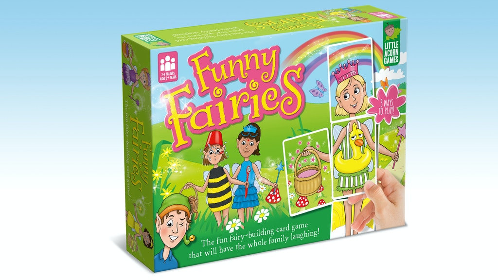 Funny Fairies: The fun fairy-building children's board game! project video thumbnail