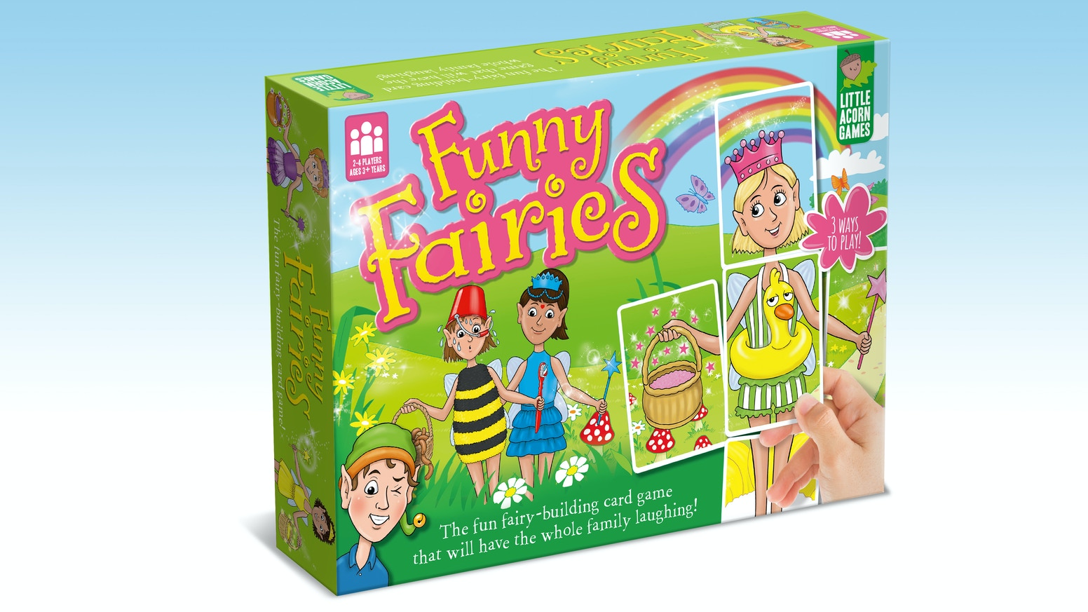 Spell practice at Fairy School is going hilariously wrong and the fairies need your help to get back to normal!