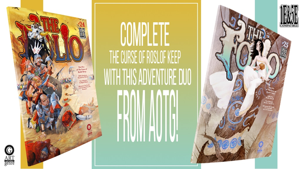 The Folio #24 & #25 Double Edition Adventure Set project video thumbnail