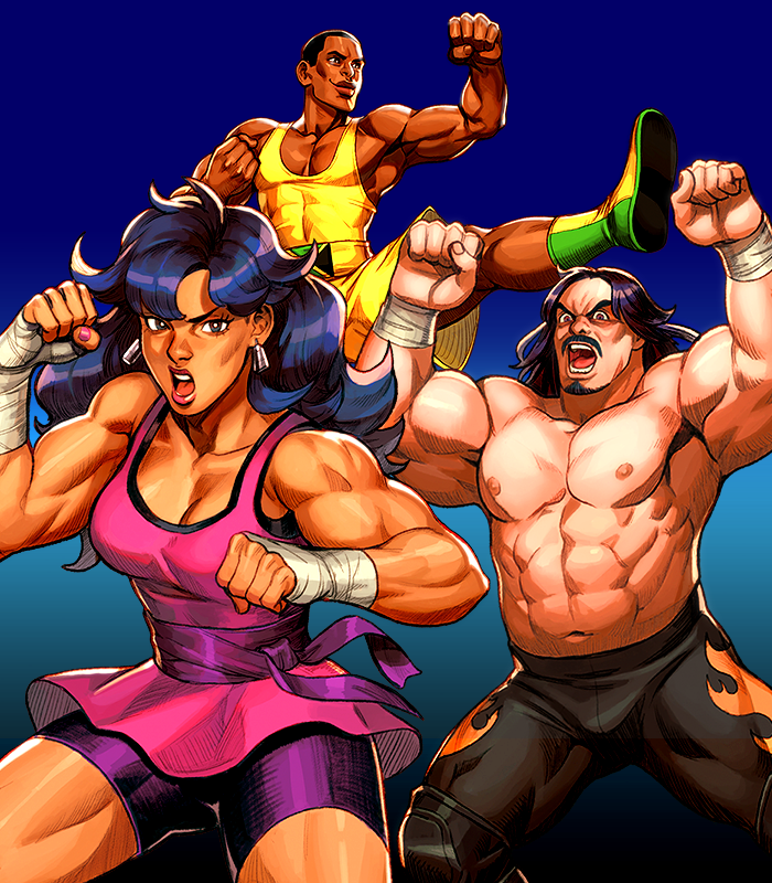 Treachery in Beatdown City is a comedic action thriller where players fight dozens of ridiculous enemies with a unique battle system combining the best parts of beat 'em ups, fighting games, turn based tactics and RPGS!
