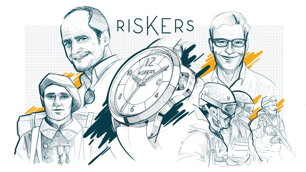 RISKERS WATCHES project video thumbnail