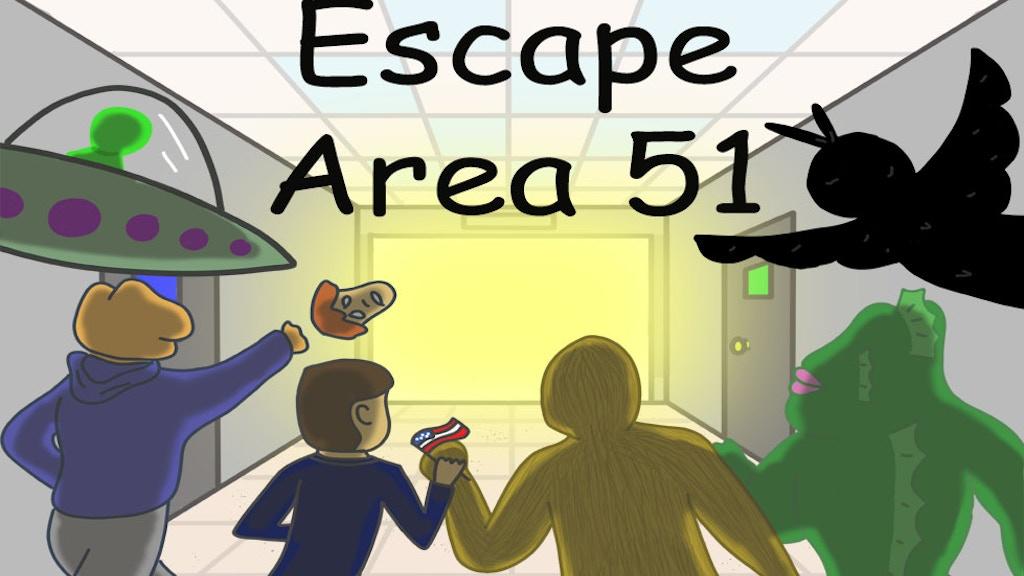 Escape Area 51 project video thumbnail