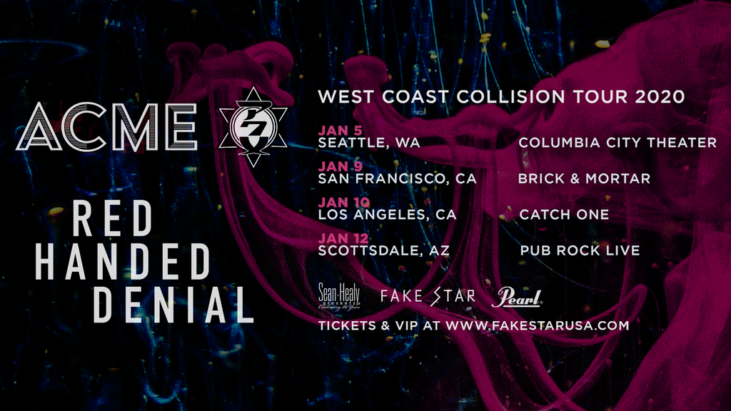 Project image for Support ACME's First US West Coast Tour