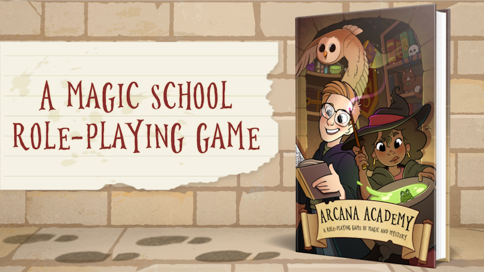 A magic school RPG about students learning magic, solving mysteries, and forging lasting friendships or bitter rivalries.