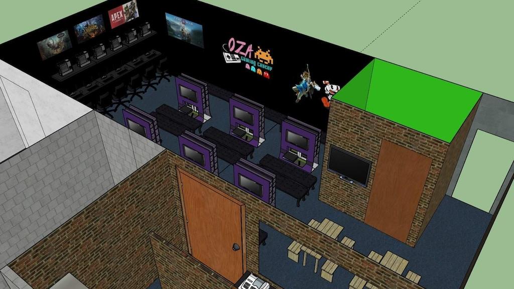 Project image for Oza Gaming Center, videojuegos y comidas