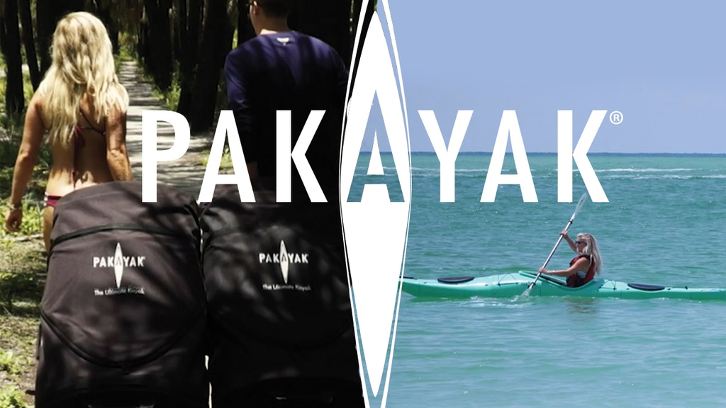 Pakayak Bluefin 142. The ultimate portable kayak. project video thumbnail