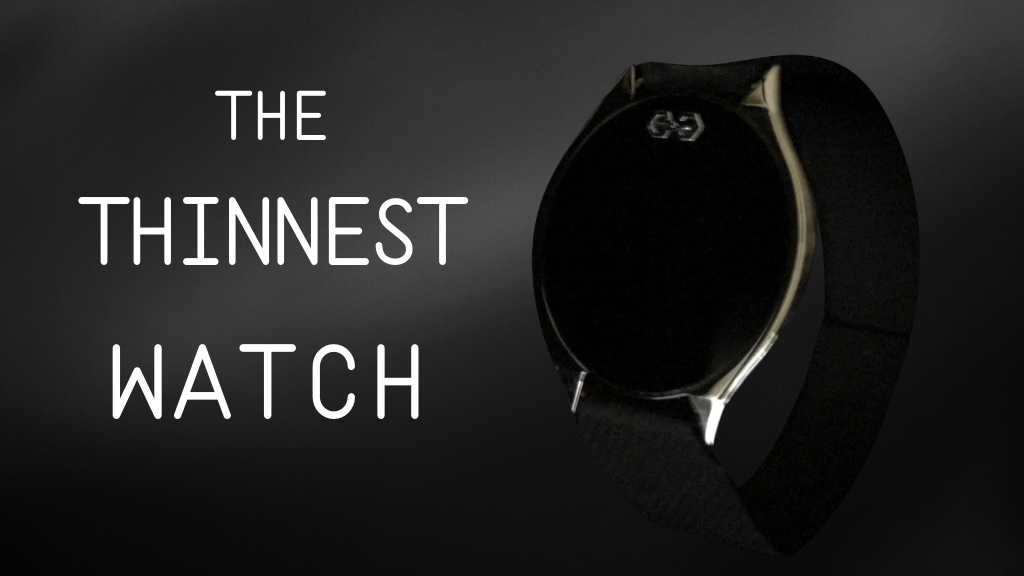 The Thinnest Watch by ZUNE Watches