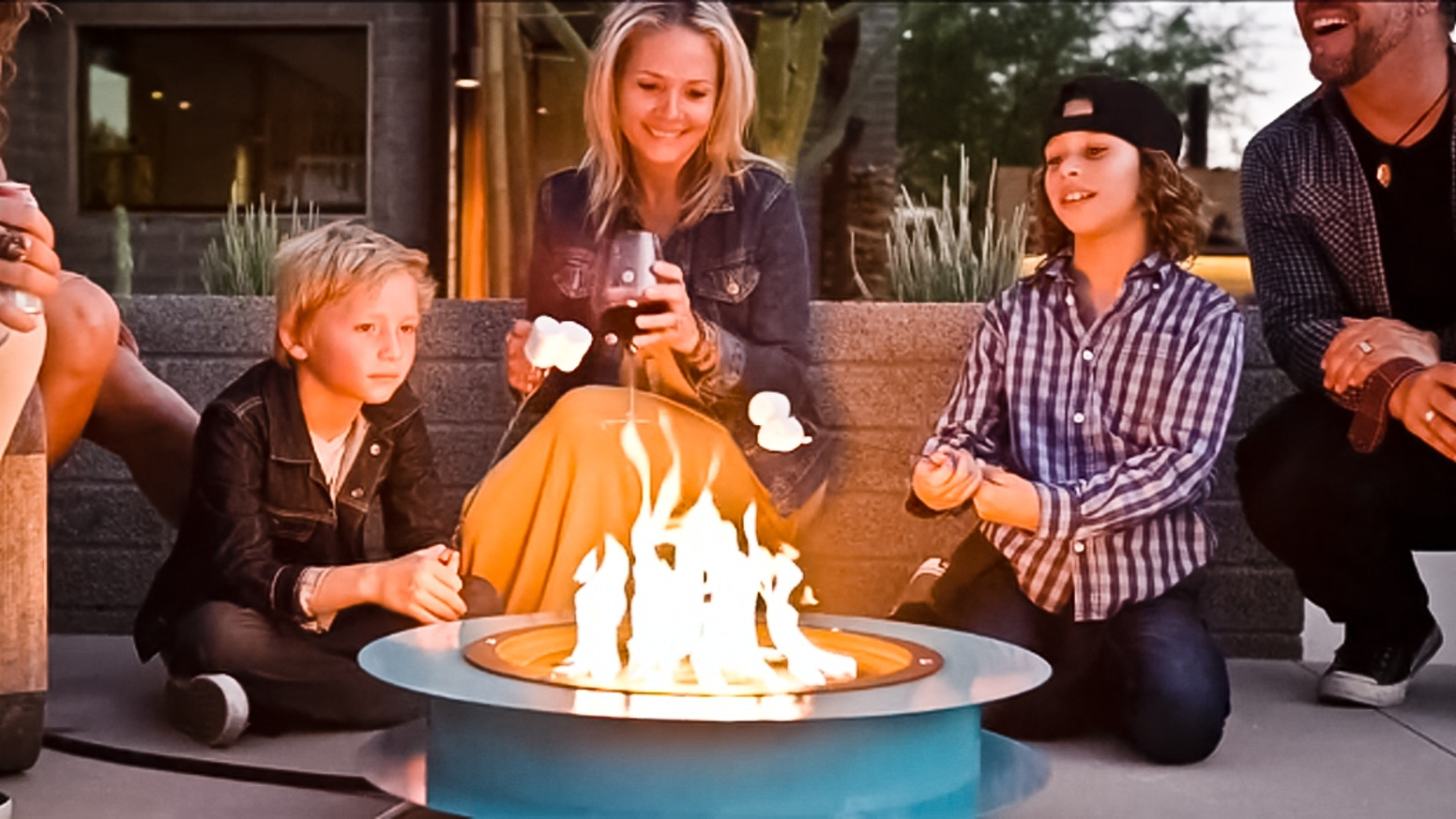 The World's Most Beautiful, Portable Fireplace That Sets Up in Seconds and Fuels Your Adventure.