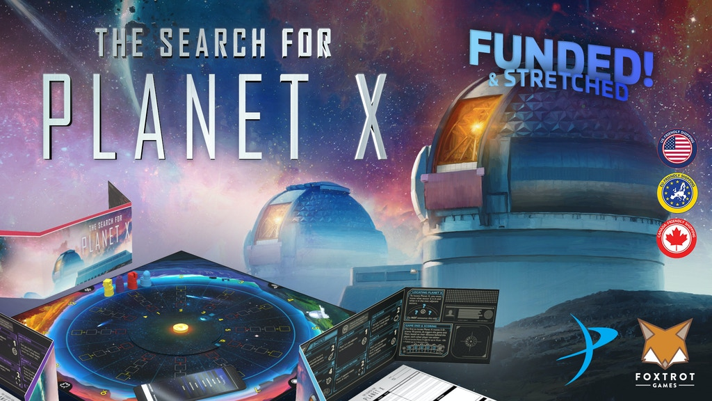 The Search For Planet X project video thumbnail