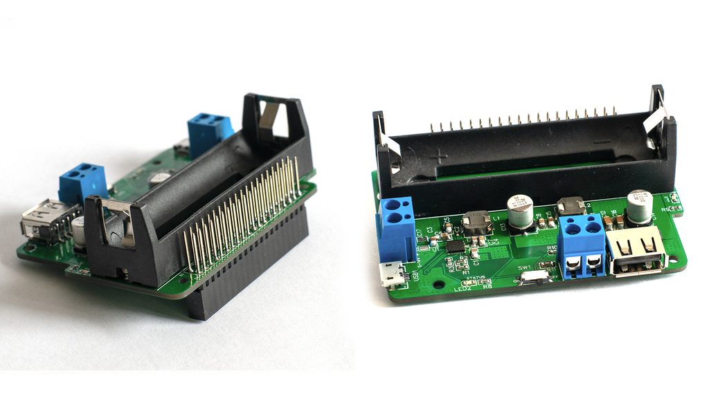 Power Pi, a smart UPS for the Raspberry Pi project video thumbnail