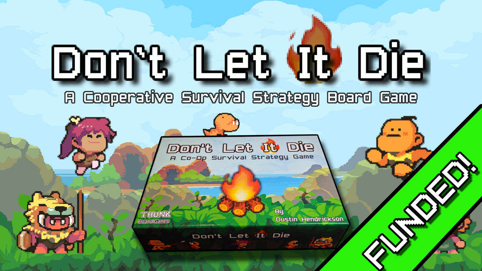 A 1-4 player, prehistoric, co-op survival strategy game where you are a part of the tribe that  discovered fire.