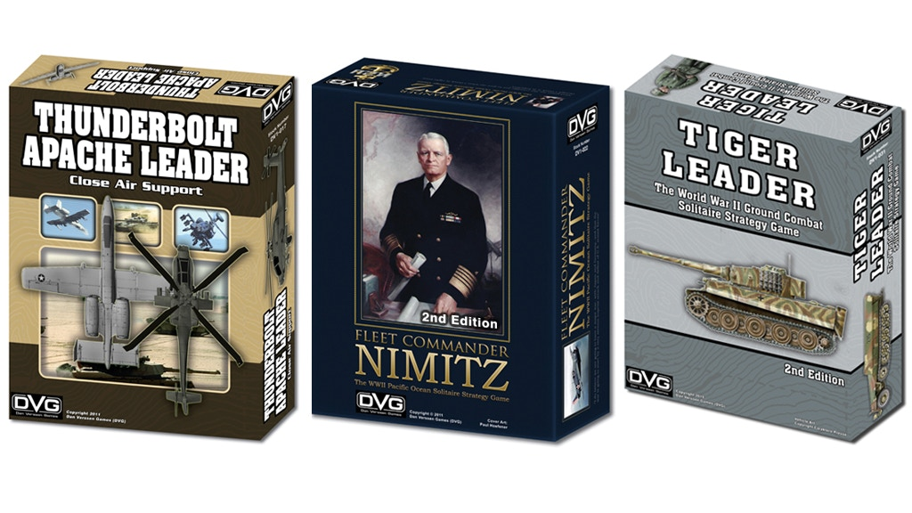 Thunderbolt-Apache Leader, Fleet Cmdr Nimitz, Tiger Leader project video thumbnail