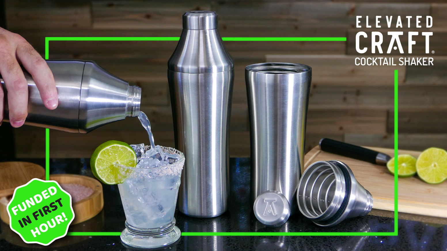 An innovative tool for every home bar. Vacuum insulated with a patented measuring system and 750 ml capacity.