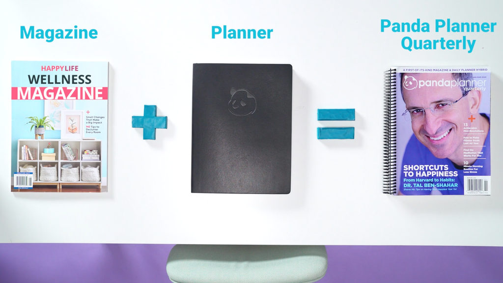 Panda Planner Quarterly: Daily Planner + Wellness Magazine project video thumbnail
