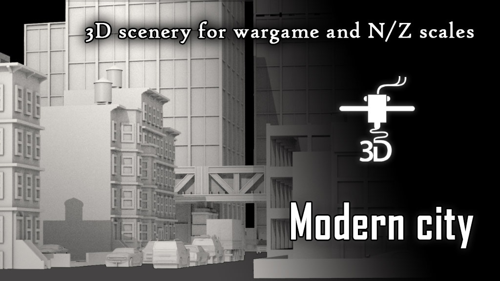 Modern City for wargame project video thumbnail