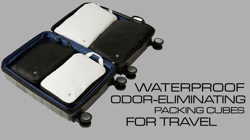 THE FIRST-EVER NANOTECHNOLOGY LUGGAGE PACKING CUBES