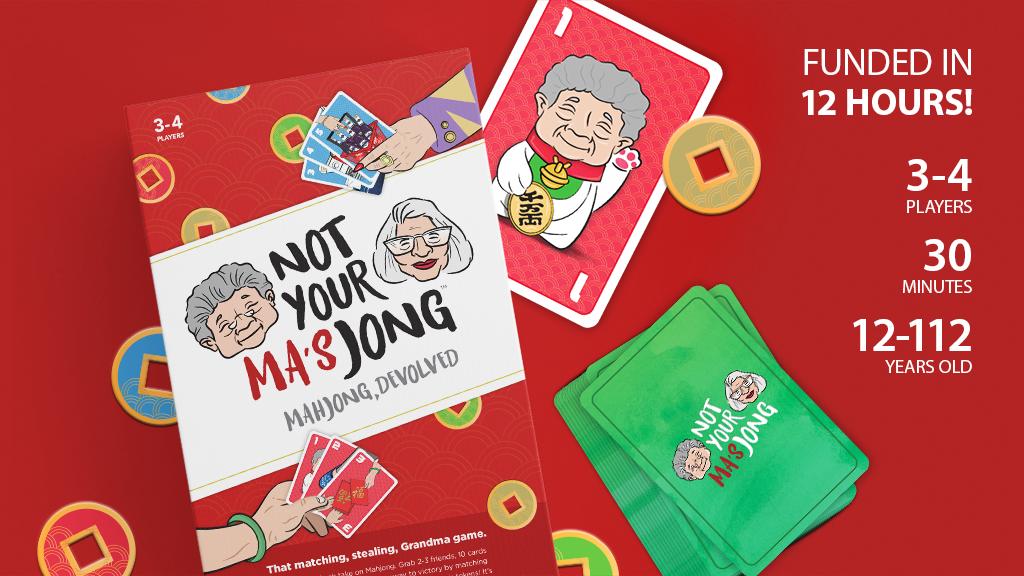 Not Your Ma's Jong: Mahjong, Devolved project video thumbnail