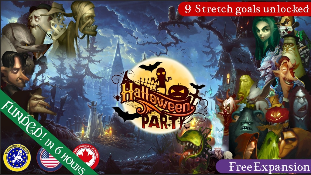 HALLOWEEN PARTY project video thumbnail