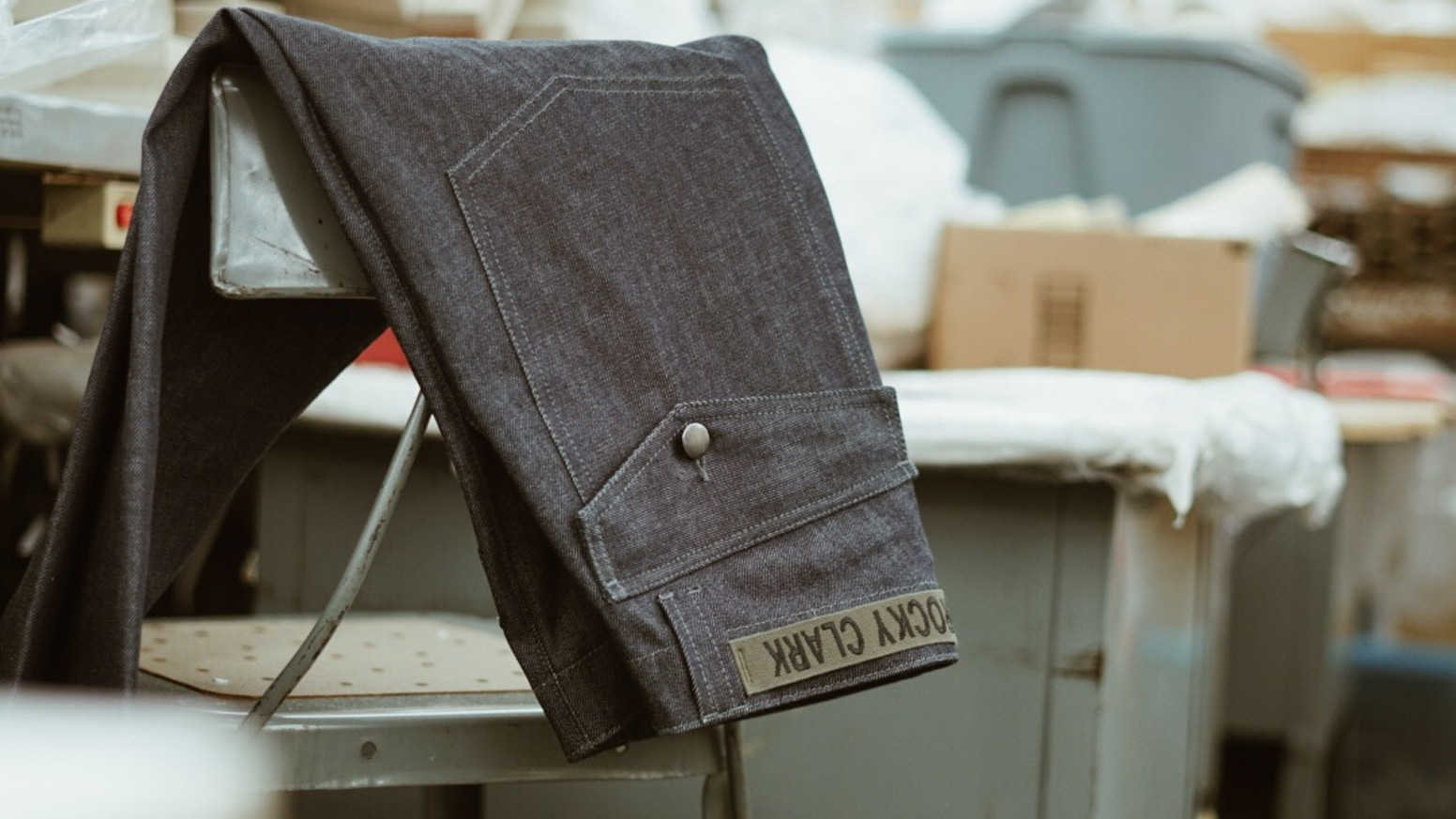 Handcrafting jeans in NYC using ethical fabric.