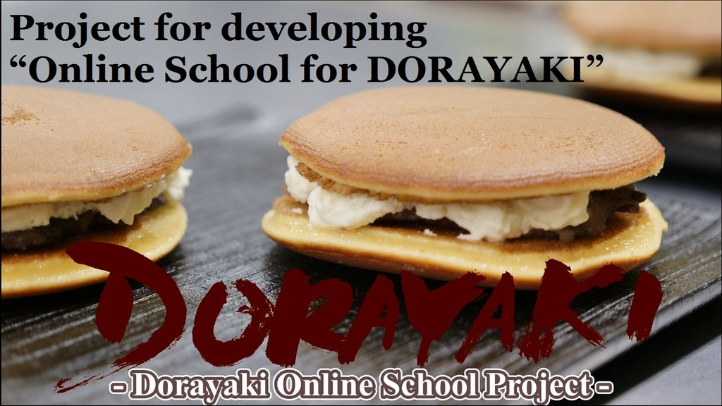 """Project for developing """"Online School for DORAYAKI"""" project video thumbnail"""