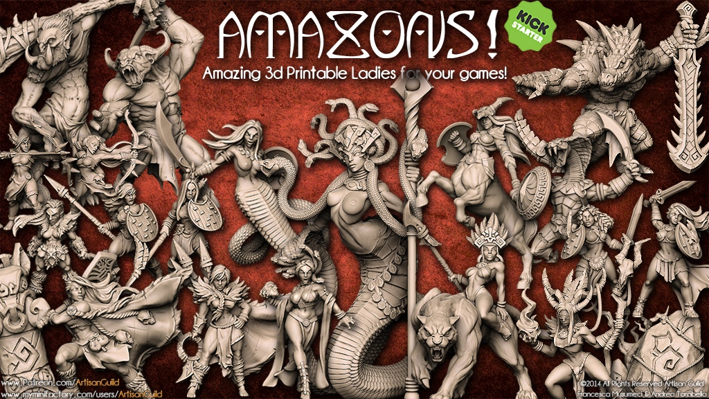 AMAZONS! project video thumbnail