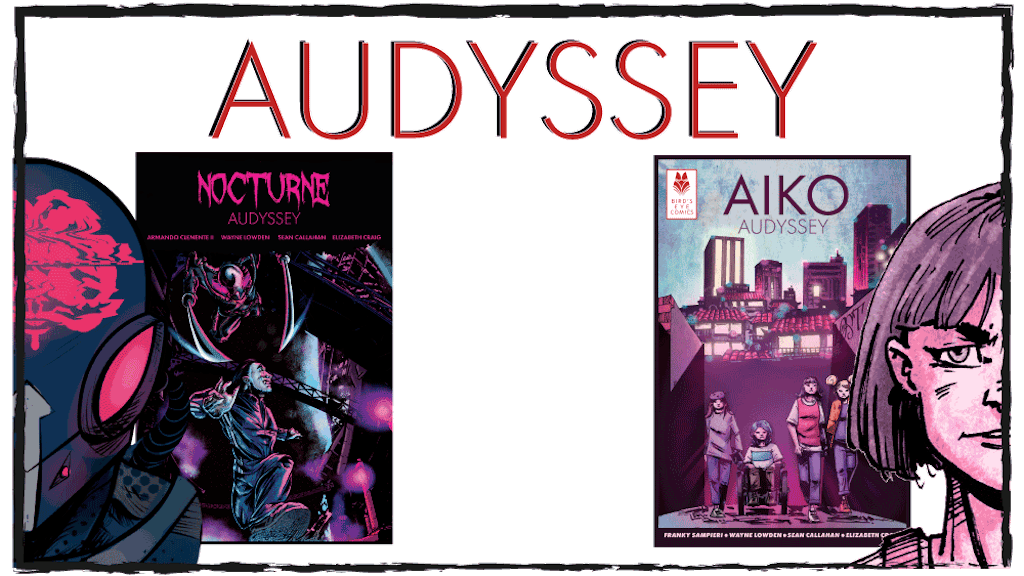 Project image for AUDYSSEY: Aiko Issue 0 and Nocturne Issue 0