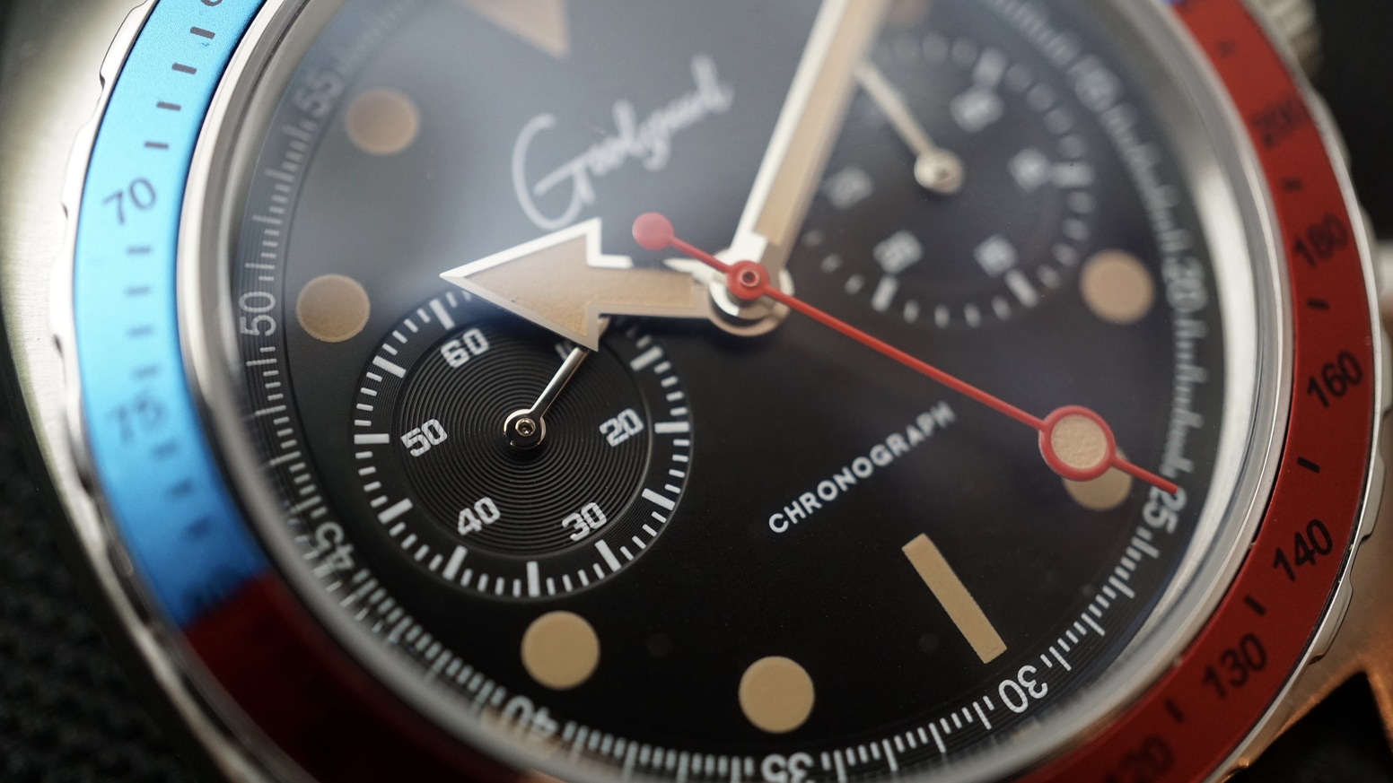 The Goodspeed Sonoma is a vintage styled watch with modern components at an affordable price.