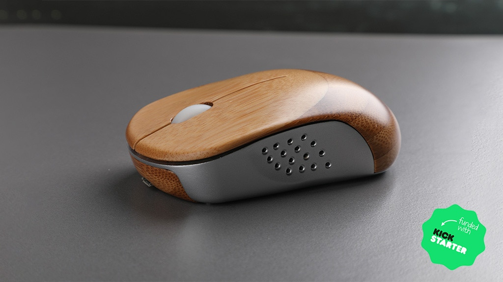 Ice Mouse: A Breathable Bamboo Mouse with Natural Touch project video thumbnail