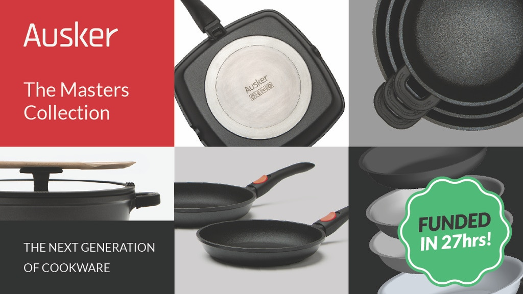 The Masters Collection: The Next Generation of Cookware project video thumbnail
