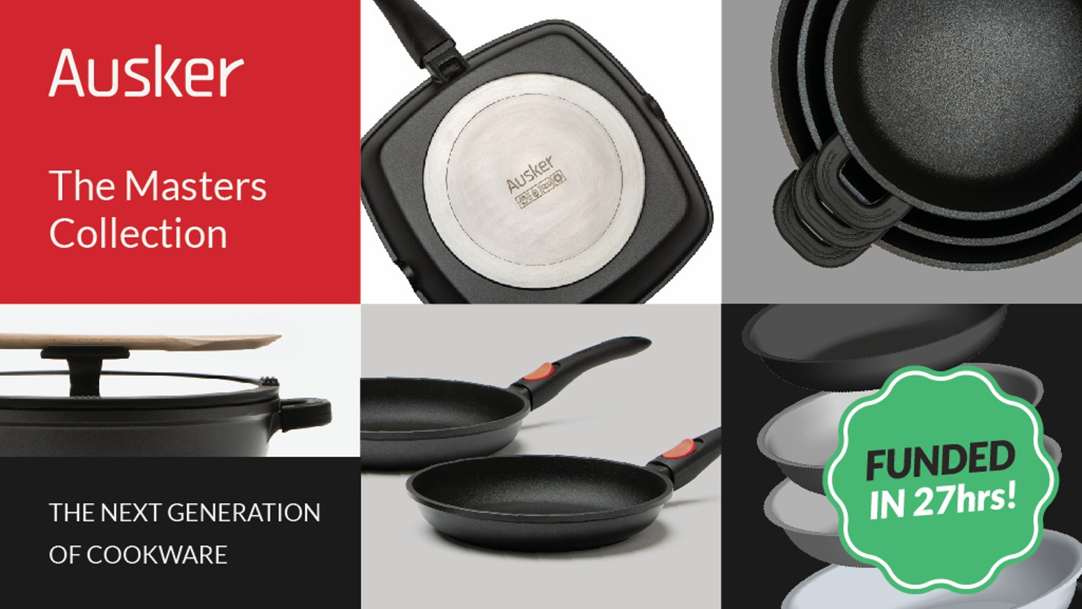 Our die-cast aluminum cookware features PEEK coating, the most groundbreaking scratch and wear-resistant non-stick technology.