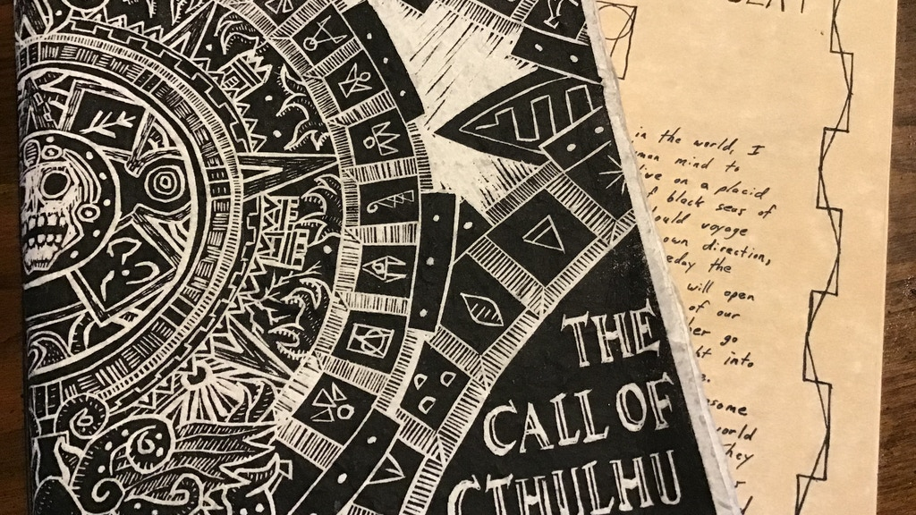 The Call of Cthulhu: Silent Library First Edition project video thumbnail