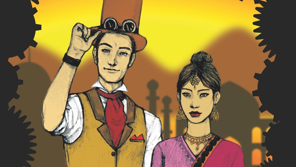 ElectroMagnetic 1-3 Steampunk Comic Series project video thumbnail